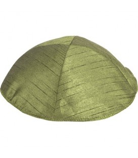 Kippah Polysilk - Green
