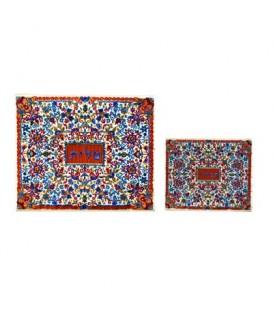 Tfilin Bag - Full Embroidery - Multicolor