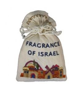 Embroidered Spice Bag - Jerusalem